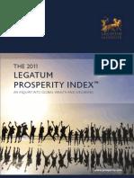 Legatum Prosperity Index 2011