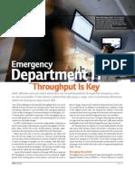 CMIO_Emergency Department IT Throughput is Key