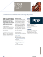 Master of Science in Information Technology(1)