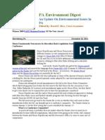 Pa Environment Digest Dec. 26, 2011