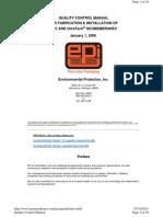 Manual Contro de Calidad PVC