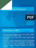 HRM - Evolution & Strategic