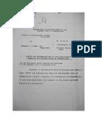 Bernie O'Hare 22 Page Law License Suspension