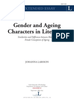 Gender and Ageing Characters in Literature