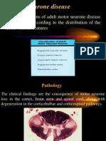 Motor neurone disease د.رشاد عبدالغني
