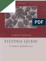 Zygmunt Bauman Fluidna Ljubav