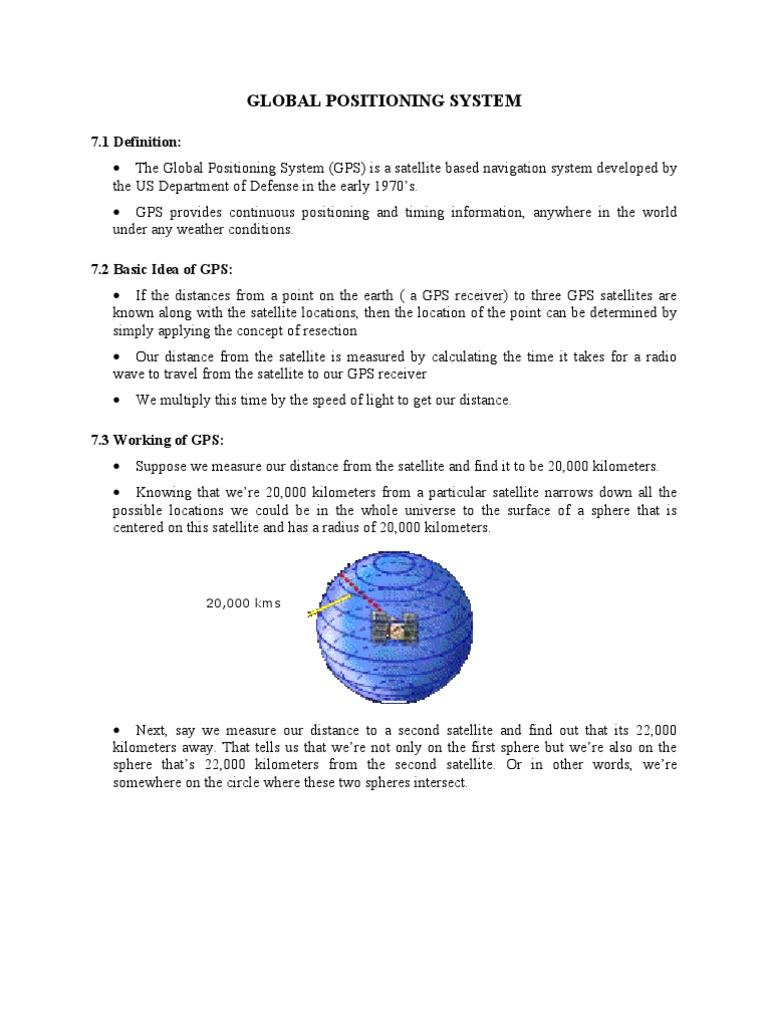 global positioning system | global positioning system | surveying