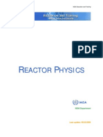 Reactor Physics