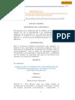 Normas Para El Control de Materiales Peligrosos y El Manejo de Los Desechos Peligrosos