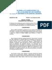 Normas Para La Clasificacion y Control de Calidad de Los Cuerpos de Agua y Vertidos o Efluentes Liquidos