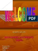 High Speed Machining Ppt