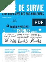 Guide de Survie a Un Diner Avec Des Pro Nucleaires