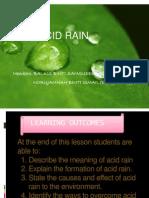 Power Point Acid Rain