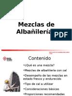 CAPA.TEC.MEZCLAS  DE ALBAÑILERIA.60MIN
