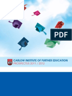 Carlow VEC Inst of Further Ed 2011-2012 Compressed