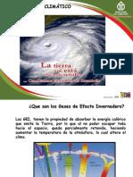 Comunicado Nacional Sobre Cambios Climaticos