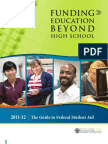 Funding Education Beyond High School 2011-12