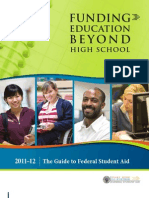 Funding Education Beyond High School 2011-12