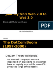 Journey From Web 2.0 and Web 3.0