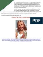 El Mito de Jesús de Nazaret