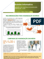 Boletim Informativo 03-2011 CCIH