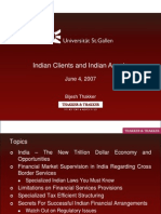 Thakker_Indian Clients and Indian Assets