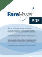 Fare Master Brochure