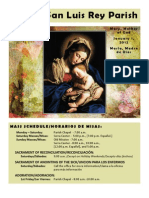 Bulletin for January 1, 2012