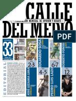 La Calle del Medio, nº 33, enero 2011