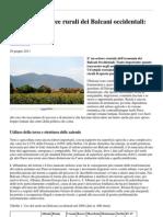 Agricoltura e Aree Rurali Dei Balcani Occidentali Stato Di Salute 95798