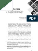 Pensar humano estudios de posgrado BARRAGAN DIEGO, QUIROGA LUIS