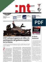 CNT, nº 377, abril 2011