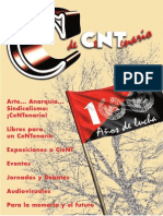 CNT, nº 380, julio 2011 - Suplemento 'C de centenario'