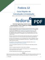 Fedora 12 Installation Quick Start Guide Pt BR