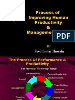 Improving Human Productivity