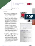 12 Technical Data Sheet Reactors English