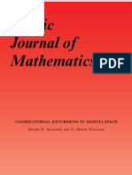 Roger W. Barnard and G. Brock Williams- Combinatorial Excursions in Moduli Space