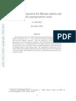 A. Zabrodin- Intertwining operators for Sklyanin algebra and elliptic hypergeometric series