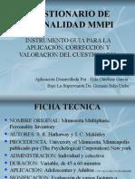 Cuestionario Personal del Mmpi