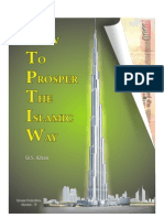 How to Prosper the Islamic Way