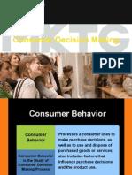 Consumer Decison Making