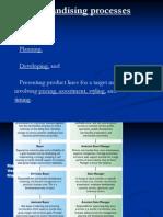 Merchandising Processes