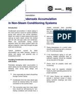 Avoiding Condensate Accumulation in Non-Steam Conditioning Valves