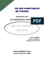 Traitement comptable et Régime fiscal des opérations de Leasing