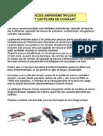 CAR Pinces Et Capteurs Courant Original Fr