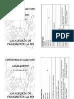 Inscripción Casalgordo 2011