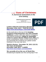 Journal of Overcomer in 21st Century the Guns of Christmas 25.12.2011