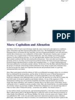 Marx Capitalism