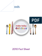 Kraft Foods Fact Sheet