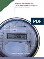 Accenture POV Smart Grid Meter Data Management System